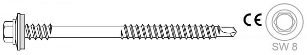 Montage von Sandwich-Profilen auf Holzunterkonstruktionen Bohrschrauben BR RS HT 16 6.5 x L