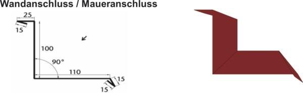 Wandanschluss  / Maueranschluss