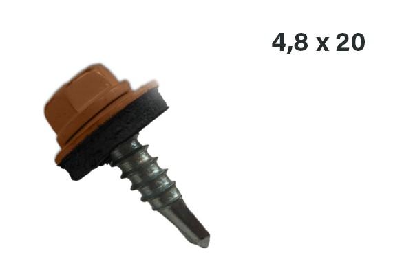 Blechrauben 4,8 x 20mm