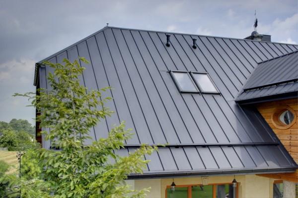 Dachpaneele mit Stehfalz DP-510 0,5 mm PMG Matt 35µm - 15,37 Euro/m²