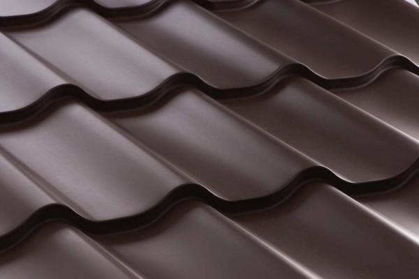 Dachplatten Dachziegelblech 350/15 /0,4/ - 8,60 Euro/m²