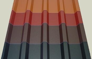 Dachplatten | Profilblech | Dachblech | Trapezbleche T-20M 0,50mm - 12,38 Euro/m²